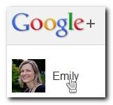 Select name in Google+