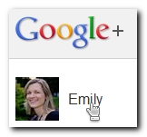 Select name in Google+